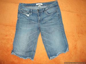 H&M Zenski Teksas,Jeans Sorc,Zenske Bermude,vel.M