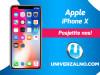 Apple iPhone X 256GB - A K C I J A -
