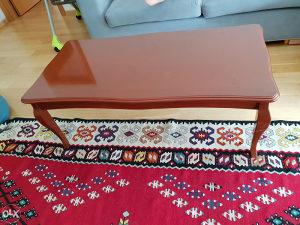 Klupski sto, stilski italijanski namještaj