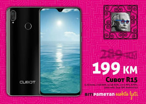 Cubot R15 | 2GB+16GB | 13+2 Mpx | Android 9.0 | Dual si