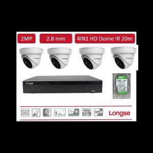 Videonadzor Longse SET 4 Kamere 2MP