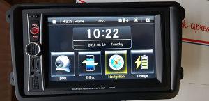 GPS NAVIGACIJA AUTO RADIO vw PASAT 6 golf 5
