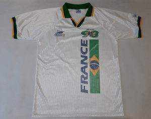 (19-07-079) FIFA France 98 Brazil dres XL