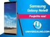 Samsung Galaxy Note8 64GB (Note 8) - A K C I J A -