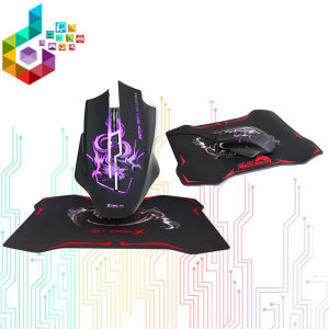 Gaming miš + podloga Xtrike ME GMP-501