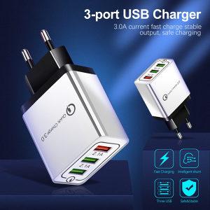 Brzi punjač sa 3 USB porta