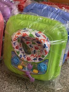 Hodalica / dubak za bebe prohodalica djecija Zelena