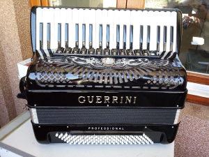 Harmonika Guerrini profesional 2+2 Novaa