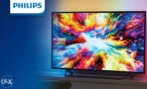 "Philips 4K 55"" ANDROID 55PUS7303 Ambilight TV PUS7303"