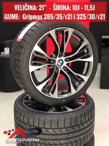 """Felge BMW X5 / X6 ///M  21"""" sa Gumama Gripmax"""