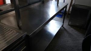 Radni sto inox 1.95x70 ugostiteljska oprema