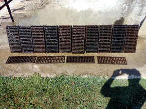 Kanalske resetke(50×22cm)24Komada(+Dostava).