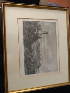 Umjetničko djelo litografija Godesberg