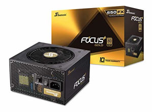 Seasonic FOCUS Plus 650W Gold, 650W, modularno