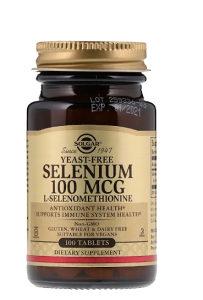 Solgar selen/selenium 100mcg/ 100 tableta