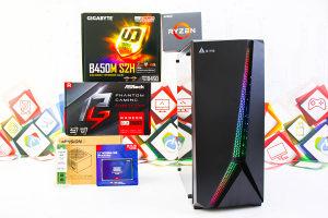 Gaming PC Twenty 2; Ryzen 5 1600x; RX 570 4GB; SSD