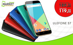 ULEFONE S7 - GRATIS MASKICA, 1GB/8GB- INTERNET MARKET
