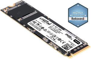 SSD Crucial P1 1TB M.2 2280 NVMe PCIe