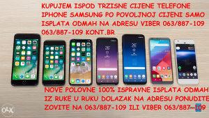 KUPUJEM OTKUP IPHONE 7 8 PLUS X xr xs max S10e S10 PLUS