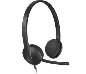 USB Slusalice sa mikrofonom Logitech (19045)