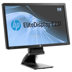 HP EliteDisplay E231 23inch LED Monitor DP,DVD,VGA