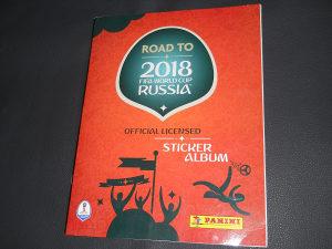 Road to 2018 FIFA World Cup Russia Panini album