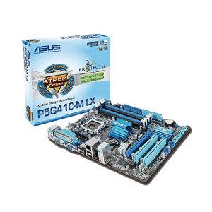 ASUS LGA775 P5G41C-M LX matična ploča plus procesor