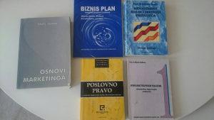 Knjige za Ekonomski fakultet