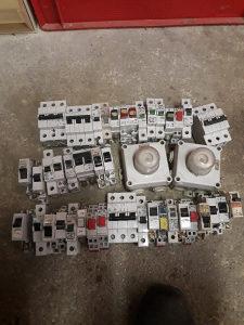 Elektro materijal osiguraci sklopke relej