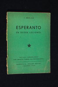 Esperanto - F. Novljan