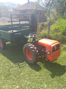 Traktor transporter