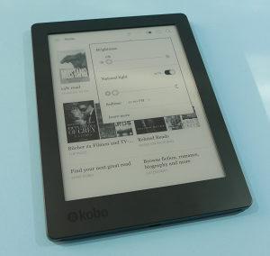 """KOBO Aura H2O 2nd Edition, 6.8"""", 8GB E-Book čitač"""