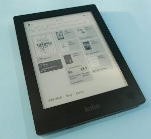"""Kobo Aura HD 6.8"""" N204B E-Book čitač"""