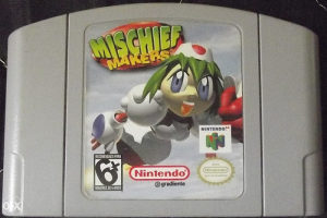 NINTENDO 64 MICSHIF MAKERS
