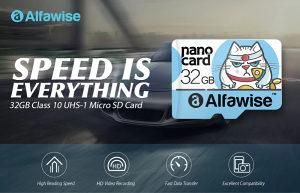 Micro SD Card Alfawise 32GB High Speed High Capacity