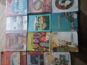 Knjige za VI razred