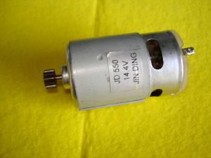 ELEKTROMOTOR JD 550 DC:14,4V ZA AKU BUŠILICE  I SLIČNO