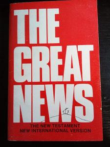 Knjige engleski,The Great News-The Holy Bible