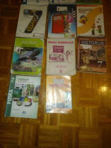 Udžbenici (knjige) za 7. razred