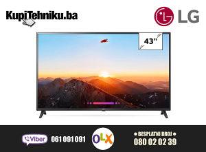 """LG 4K Smart TV LED 43"""" 43UK6200PLA"""
