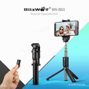 Tripod original selfie 4u1 BlitzWolf univerzalni