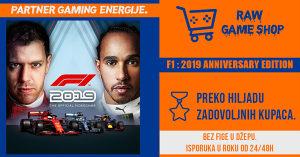 F1 2019 ANNIVERSARY EDITION | PS4 | PLAYSTATION 4