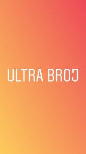 Ultra broj 061 55 80 50