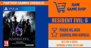 RESIDENT EVIL 6 | PS4 | PLAYSTATION 4