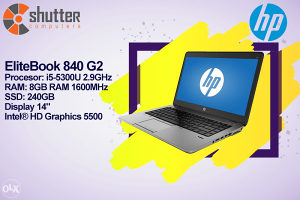HP EliteBook 840 G2 - Ultrabook Laptop