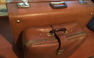 Kofer kozni putni Vintage