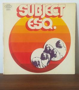Subject Esq. - Subject Esq. LP