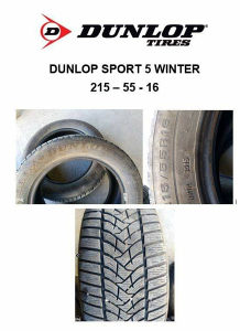 Gume DUNLOP SPORT 5 MS 215-55-16