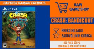 CRASH BANDICOOT N. SANE TRILOGY | PS4 | PLAYSTATION 4