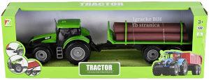 Traktor sa prikolicom za drva za djecu dječake NOVO